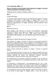 Legge regionale 12 gennaio 1998 n. 1 - Teramo Turismo