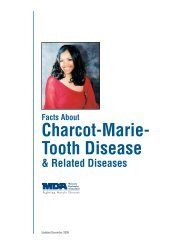 Charcot-Marie- Tooth Disease - Muscular Dystrophy Association