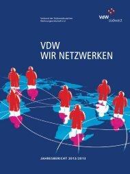 Jahresbericht 2012/2013 - VdW südwest