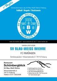 13.04.2008 SV Blau-Weiss Wiehre gegen FC Rimsingen