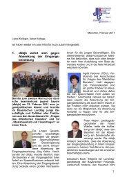 Infos Februar 2011 - JVB