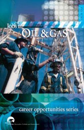 Jobs in Oil and Gas - Education, Culture and Employment ...