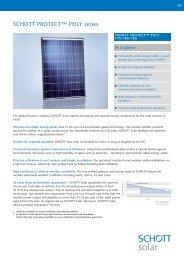 SCHOTT PROTECT POLY 175-185 data sheet EN ... - Solarni paneli