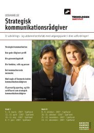 Strategisk kommunikationsrådgiver - Anne Katrine Lund