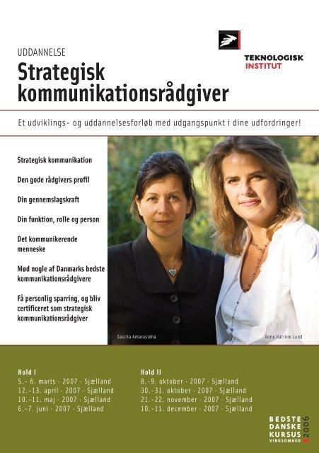 Strategisk kommunikationsrådgiver - Anne Katrine Lund