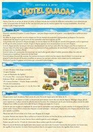 Résumé du jeu Matériel : Preparations - White Goblin Games