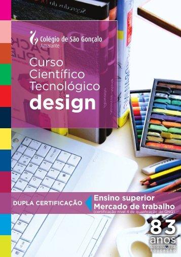 design - Colégio S. Gonçalo