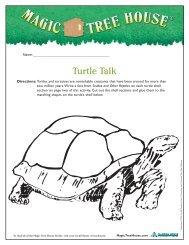 Turtle Talk - Magic Tree House