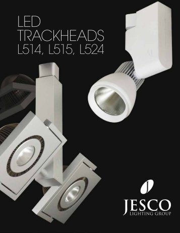 LED Trackheads L514, L515, L524 - Jesco Lighting