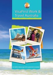 VisaFirst Work & Travel Australia