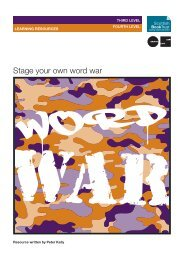 Stage your own Word War - PDF document - Scottish Book Trust