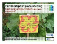 Partnerships – Are they the Solution? - MP4-Interreg