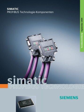 PROFIBUS Technologie-Komponenten