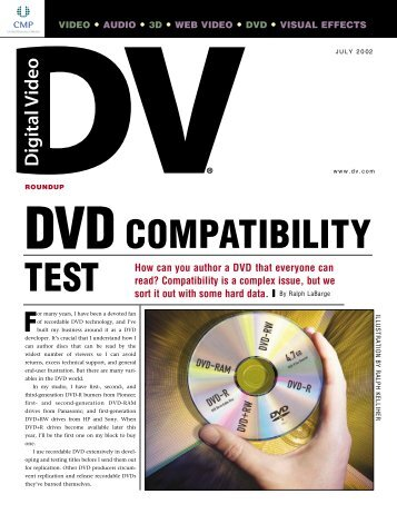 DVD Compatibility Test - Maxell Canada