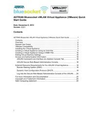 Configuration Guide Using Auto-Config in AOS - ADTRAN