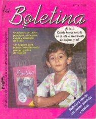 La Boletina # 19 - Sidoc