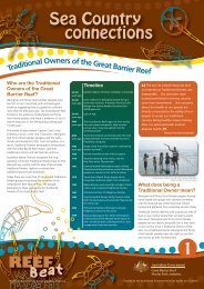 Tra rReef - Great Barrier Reef Marine Park Authority