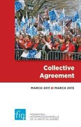 FIQ - Collective agreement 2011-2015