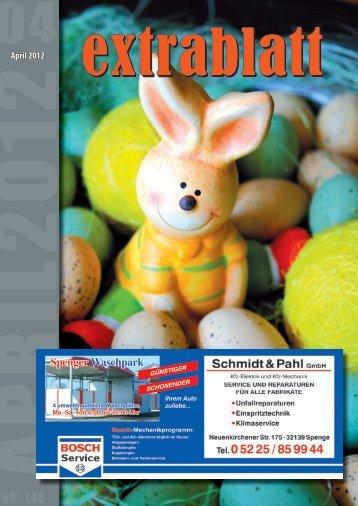 Ausgabe April 2012 - Extrablatt