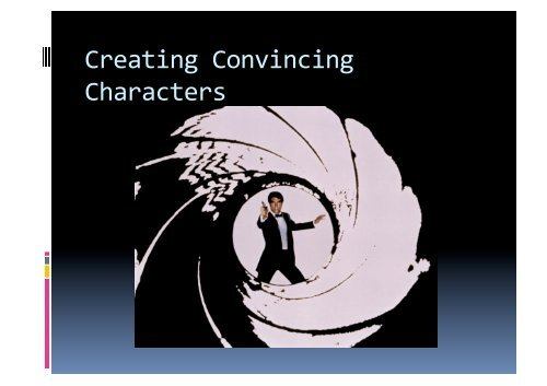 Creating Convincing Characters - 160MC