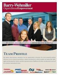 OE Team Brochure - Barry-Wehmiller