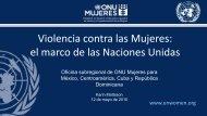 Violencia contra las Mujeres - CINU