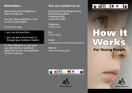 this pdf leaflet - Education Resource Service