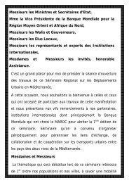 M. Chakib BENMOUSSA, Ministre de l'Intérieur ... - Euromedina