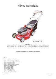 Návod k obsluze – GTM-500-v-17.05.10 - motor jikov group