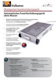 Vulkanos Fire-Trainer (1.09 Mo) - Leader GmbH