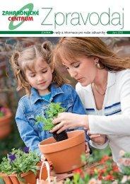 Jaro 2012 - Zahradnictví Chládek