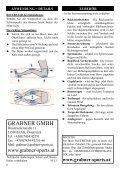 RIVERSTAR TEIl 1 - pART 1 EIGNER-HANDBUCH ... - Grabner Sports - Page 6