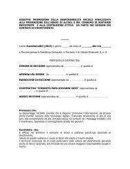 Scarica il protocollo d'intesa definitivo (66 KB) - Comune di Riccione