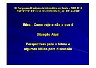 Sylvain Nahum Levy, MS, Brasil - SBIS