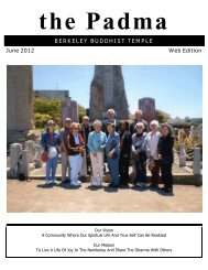 BERKELEY BUDDHIST TEMPLE June 2012 Web Edition