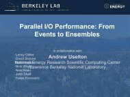 Parallel I/O Performance: From Events to Ensembles - IPDPS