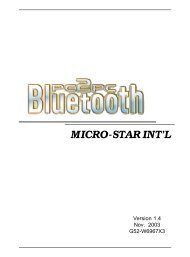 MICRO-STAR INT'L - AVRcard