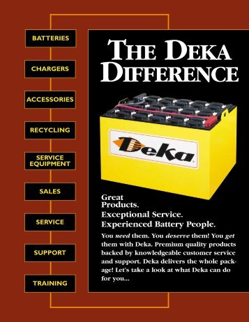 THE DEKA DIFFERENCE - OkSolar.com