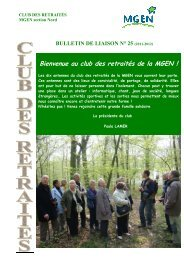 bulletin club 2012-2013 - Mgen
