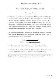 9 TVSAS Pajamos - Finansų ministerija