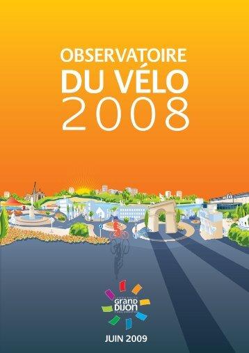 Télécharger l'Observatoire du vélo 2008 - le Grand Dijon