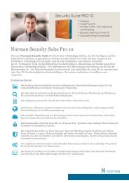 Norman Security Suite Pro 10