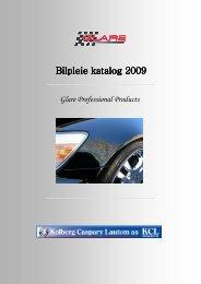 Bilpleie katalog 2009 KCL Generell - Kolberg Caspary Lautom AS