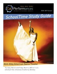Alvin Ailey American Dance Theater Study Guide 0809.indd - Cal ...