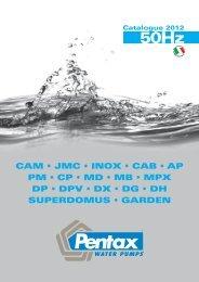 CAM • JMC • INOX • CAB • AP PM • CP • MD • MB • MPX DP • DPV ...