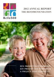 2012 ANNUAL REPORT - Refo500