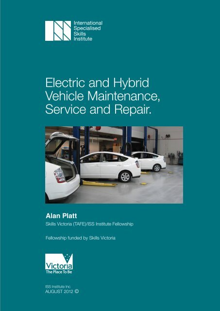 Electric and Hybrid Vehicle Maintenance, Service and Repair.