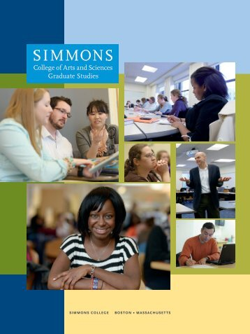 CAS Graduate Studies Viewbook - Simmons College