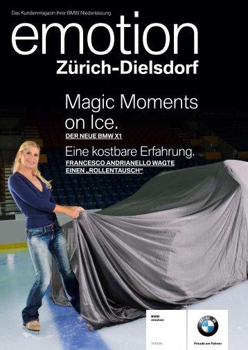 Magic Moments on Ice. - BMW Niederlassung Zürich-Dielsdorf