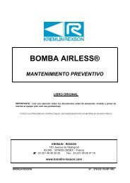 BOMBA AIRLESS® - Kremlin Rexson Sames